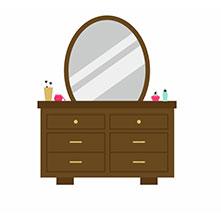 انواع آینه و کنسول